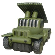 "Зенитно-ракетный комплекс "" Катюша"" Vehicle Katyusha Inflatable L3.25xW1.5xH2 фото"