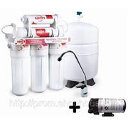 Система обратного осмоса Экософт Filter1 RO 5-5p фильтр для воды в квартиру или коттедж фото