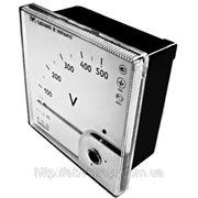 Вольтметр Э365, вольтметр ЭВ0302/1У вольтметр щитовой фото