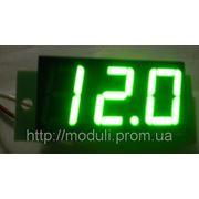 Вольтметр постоянного тока ВПТ-056 (зелёный) фото