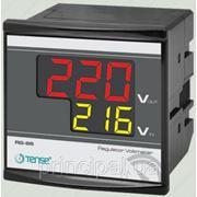 Вольтметр цифровой панельный щитовой 72х72 мм цена электронный переменного шкаф вольтметры електронн фото