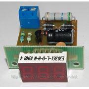 Вольтметр переменного тока В-036 (красный) фото