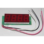 Вольтметр постоянного тока ВПТ-0,56-4 (красный) фото