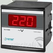 Вольтметр цифровой панельный щитовой 96х96 мм цена электронный переменного тока шкаф вольтметры цифровые фото