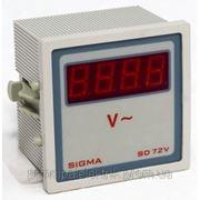 Цифровой вольтметр панельный щитовой 96х96 мм электронный цена переменного тока шкаф фото фото