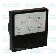 Вольтметр М42300 100-0-100V фото