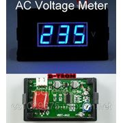 Цифровой вольтметр переменного тока 220В фото