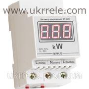 Ваттметр переменного тока, цифровой, корпус на DIN-рейку (0,00...9,99кВт) ВТМ-100/D001 фото