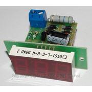 Вольтметр переменного тока В-056 (красный) фото