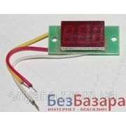 Вольтметр постоянного тока ВПТ-0.36 дюйма (от 0 до 100 В) фото