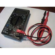 Мультиметр тестер вольтметр амперметр DT-838 фото