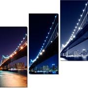 Модульная картина Мосты , Неизвестен фото
