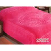 Махровая простынь розовая фото