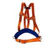 Удерживающая страховочная привязь с наплечными лямками УПС 2Д фото