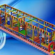 Лабиринт Kids World (полоса Препятствий) фото
