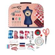 Детский набор для шитья - нитка, иголка, ножницы фото