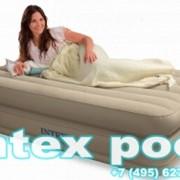 Односпальная надувная кровать Comfort bed INTEX 67724 фото