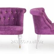 Кресло Moka Lofty Purple+пуговицы Lofty Apple фото
