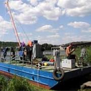 Берегозащита, устройство и укрепление временных противопаводковых сооружений фото