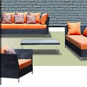 Мебель для сада из ротанга и алюминия. Артикул 1103 DYA BREEZE. фото