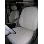 Чехлы BMW 5 E-39 сплош 1п/л сер кож-зам Классика ЭЛиС фото