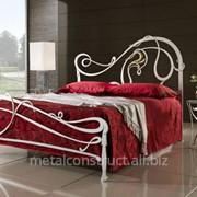 Кровать кованая Hi Tech № 4 фото