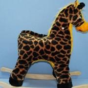 Качалка Жираф фото