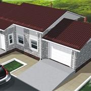Проекты одноэтажных домов с гаражом фото