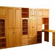 Шкафы из массива сосны. фото