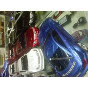 Колонка автомобиль Mercedes SC65 (синяя) USB+Micro SD +FM модуль фото