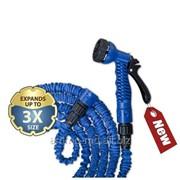 Комплект поливочный Trick Hose 5-15м синий WTH515BL фото