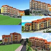 Застройка новейшего пляжного комплекса в Болгарии фото