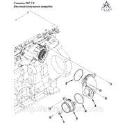 Впускной воздушный патрубок двигателя Cummins ISF 2.8
