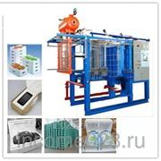 Автоматическая формовочная машина для предспенивания гранул пенополистерола с вакуумом, типовая фото