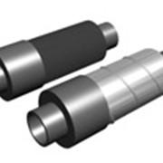 Концевой элемент с торцевым кабелем вывода в ППУ изоляции