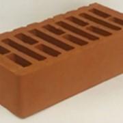 Кирпич керамический одинарный М-150 терракотовый фото