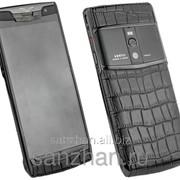 Телефон Vertu Signature Touch Pure black Alligator 87124 фото