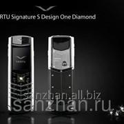 Телефон Vertu Signature S Design One Diamond Silver Ceramic 86437 фото