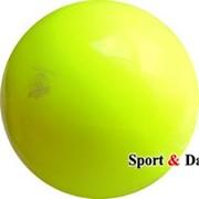 Мяч желтый,18см, вес 400 гр. фото
