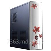 Корпус LogicPower LP-S613 Slim (450W, 8cm, 2xSATA) фото