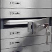Аренда индивидуальных банковских сейфов