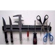 Магнитная рейка для ножей и инструментов фото