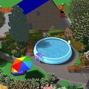 Разбивка площади для посадки сада фото