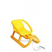 Детские санки Tornado Classik 2 желтый фото