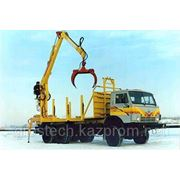 Краноманипуляторная установка «Синегорец-110» с захватом для леса, пр-ва Россия фото