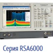 Анализатор спектра RSA6000 Tektronix фото