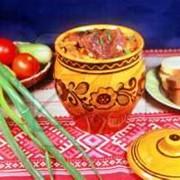 Блюда национальной украинской кухни на природе фото