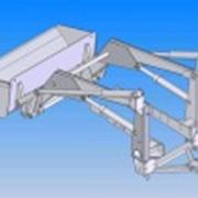 Фронтальный погрузчик ПФ 08 г/п 0.8т для МТЗ ЮМЗ фото