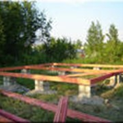 Фундамент под дом фото