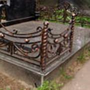 Могильные ограды. фото